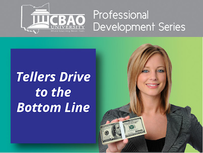 tellers drive to the bottom line